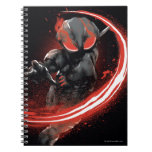 Aquaman | Black Manta Red Swipe Graphic Notebook