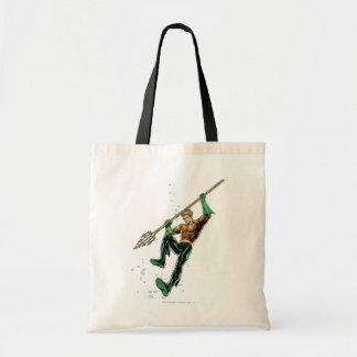 Aquaman con la lanza bolsa de mano