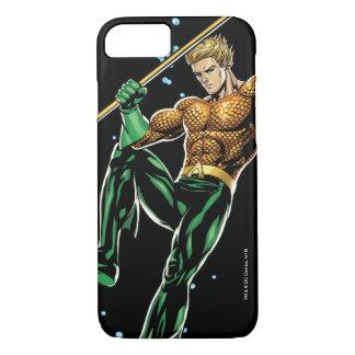 Aquaman con la lanza funda iPhone 7
