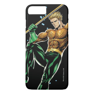 Aquaman con la lanza funda iPhone 7 plus