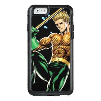 Aquaman con la lanza funda otterbox para iPhone 6/6s