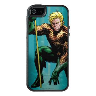 Aquaman Crouching 2 OtterBox iPhone 5/5s/SE Case