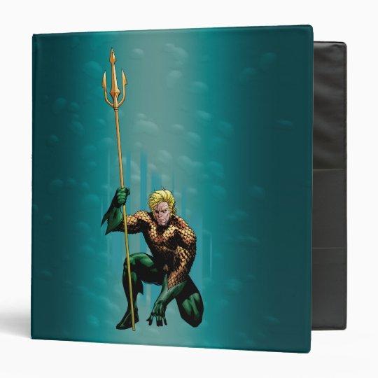 Aquaman Crouching Binder