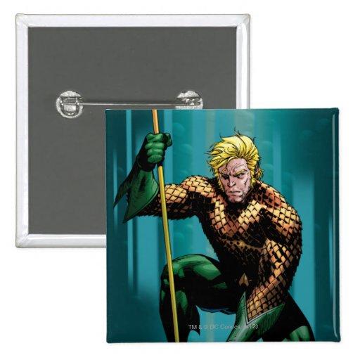 Aquaman Crouching Button
