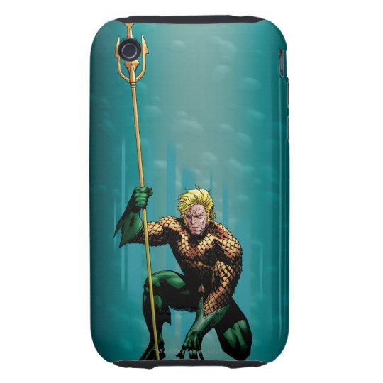 Aquaman Crouching iPhone 3 Tough Case