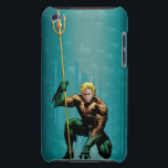 "Aquaman Crouching iPod Touch Cover<br><div class=""desc"">Justice League New 52</div>"