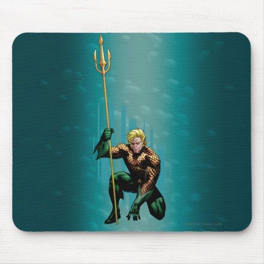 Aquaman Crouching Mouse Pad