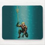 Aquaman Crouching Mousepad