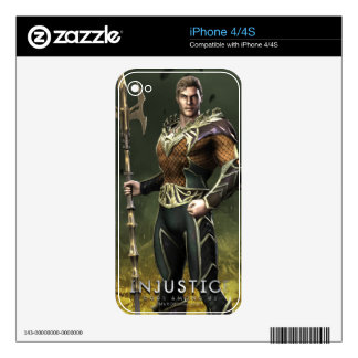 Aquaman Decals For iPhone 4S