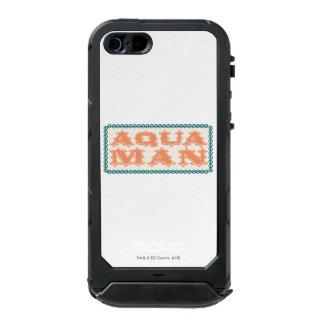 ¡Aquaman es Showtime! Letras Funda Para iPhone 5 Incipio ATLAS ID
