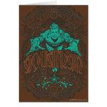 ¡Aquaman - es Showtime! Poster Tarjeta De Felicitación