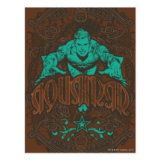 ¡Aquaman - es Showtime! Poster Tarjeta Postal