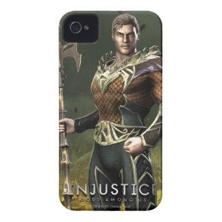 Aquaman iPhone 4 Case-Mate Cárcasas