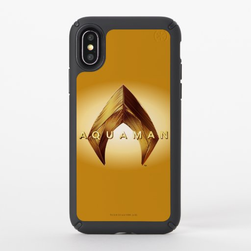 Aquaman | Golden Aquaman Logo Speck iPhone X Case