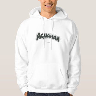 Aquaman Grunge Black Logo Pullover