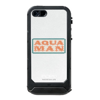 Aquaman It's Showtime! Letters Waterproof iPhone SE/5/5s Case