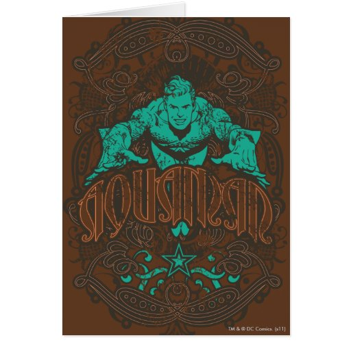 Aquaman - It's Showtime! Poster Card
