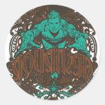 Aquaman - It's Showtime! Poster Classic Round Sticker
