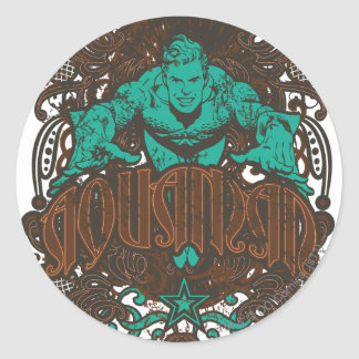 Aquaman - It's Showtime! Poster Round Stickers