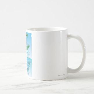 Aquaman Jumps Out of Sea Coffee Mugs
