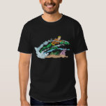 Aquaman Leaps Over Coral Tee Shirt
