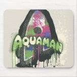 Aquaman - letra torcida de la inocencia mouse pads
