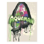 Aquaman - letra torcida de la inocencia postal