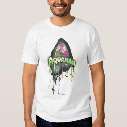 Aquaman - letra torcida de la inocencia remeras