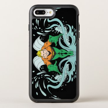 Aquaman Lunging Forward OtterBox Symmetry iPhone 8 Plus/7 Plus Case