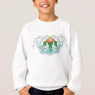Aquaman Lunging Forward Sweatshirt