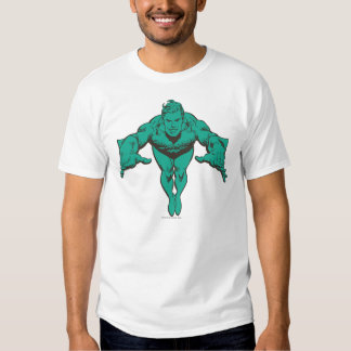 Aquaman Lunging Forward - Teal Shirt