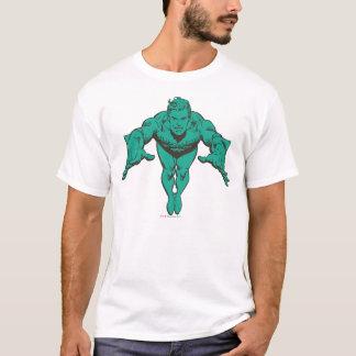 Aquaman Lunging Forward - Teal T-Shirt