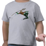Aquaman Lunging with Spear T Shirt