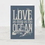Aquaman & Mera - Love As Deep As The Ocean Holiday Card