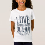 Aquaman & Mera - Love As Deep As The Ocean T-Shirt