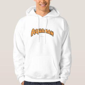 Aquaman Orange Logo Hooded Sweatshirt