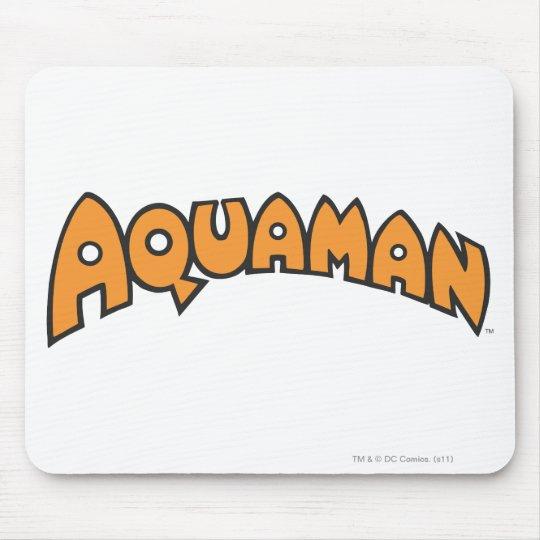 Aquaman Orange Logo Mouse Pad