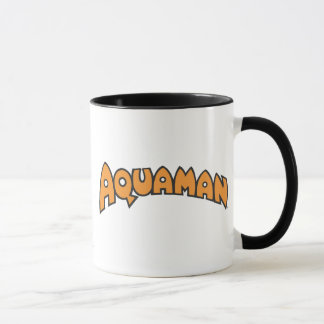 Aquaman Orange Logo Mug