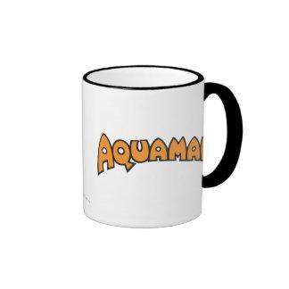 Aquaman Orange Logo Coffee Mug