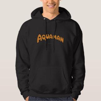 Aquaman Orange Logo Pullover