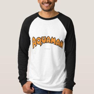 Aquaman Orange Logo T-Shirt