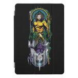 Aquaman | Orin & Orm Reversible Art Nouveau Panel iPad Pro Cover