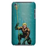 Aquaman que se agacha barely there iPod cárcasa