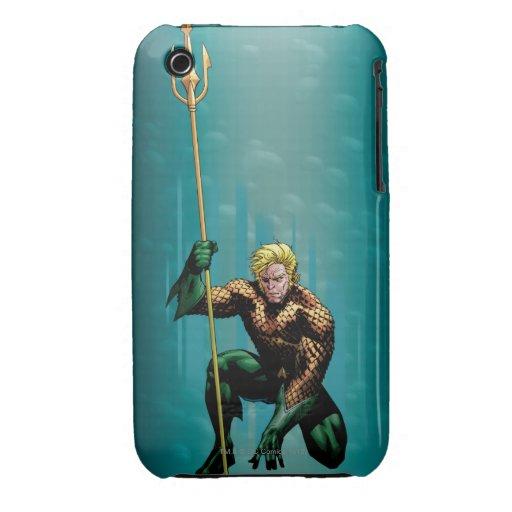 Aquaman que se agacha Case-Mate iPhone 3 protector