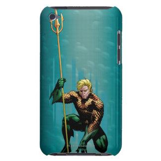 Aquaman que se agacha funda para iPod de Case-Mate
