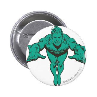 Aquaman que se lanza adelante - el trullo pin