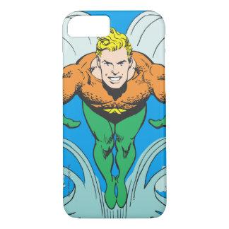 Aquaman que se lanza adelante funda iPhone 7