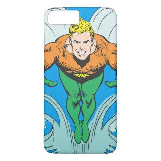 Aquaman que se lanza adelante funda iPhone 7 plus