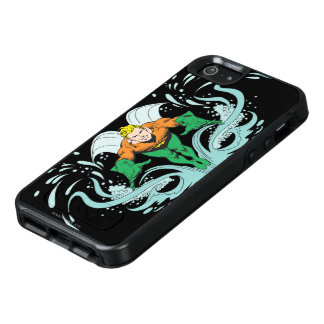 Aquaman que se lanza adelante funda otterbox para iPhone 5/5s/SE