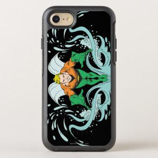 Aquaman que se lanza adelante funda OtterBox symmetry para iPhone 7